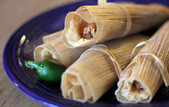 Tamales Ready-To-Eat!