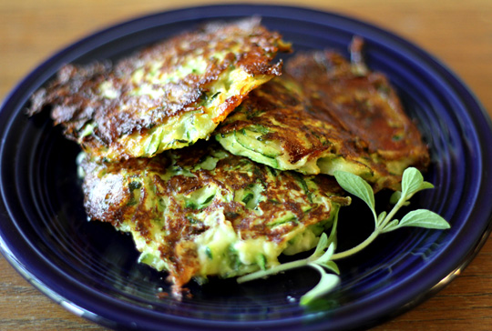 Zucchini Pancakes Hilah Cooking