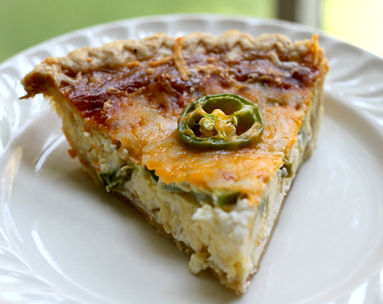 Jalapeno Quiche Recipe
