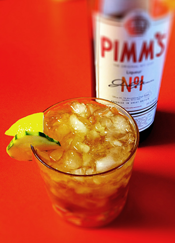 Meet My New Pal: Pimm's Cup - Hilah Cooking