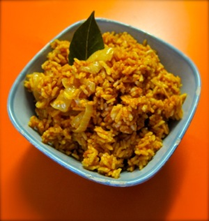 Neat-O Stuff and Spanish Rice