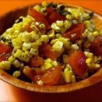 Corn and Basil Salad