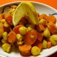 Carrots and Chickpeas