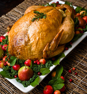 How to roast a turkey hilah cooking for What to serve with thanksgiving turkey