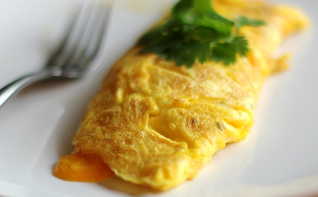 Cheesy Omelet Recipe