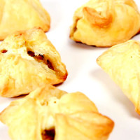 Mushroom Duxelles in Puff Pastry