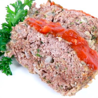 Meatloaf with Spicy Tomato Gravy
