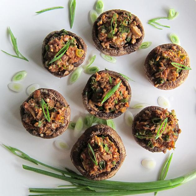 Easy Stuffed Mushrooms - Hilah Cooking