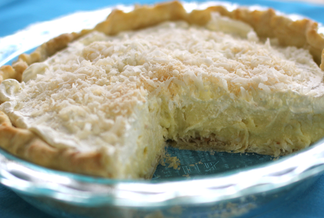 Coconut Cream Pie Recipe — Dishmaps
