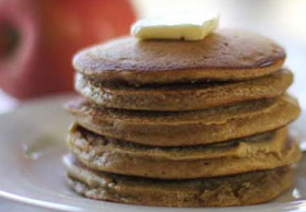 Thumbnail image for Apple Gingerbread Pancakes