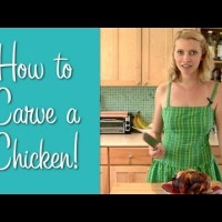Video thumbnail for youtube video How To Carve a Chicken - Hilah Cooking