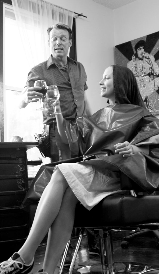 James Devery in his salon