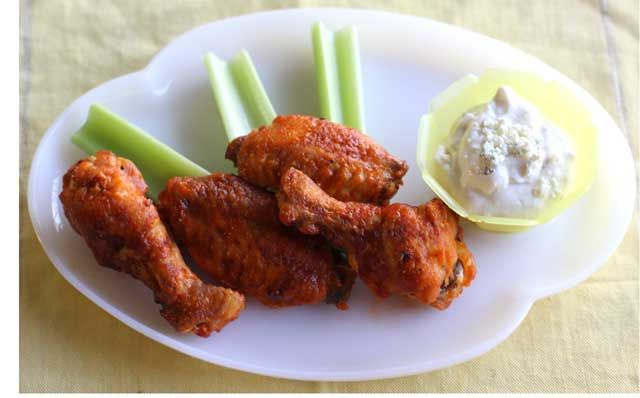 Baked chicken wings hilah cooking baked wings forumfinder Choice Image