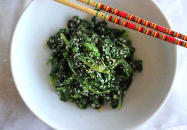 Simple Cooked Kale Recipe