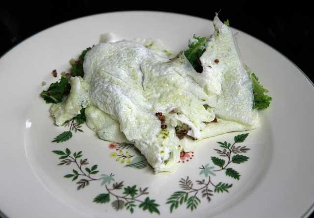 egg white omelet fail