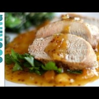 Roast Pork Tenderloin with Apricot Sauce