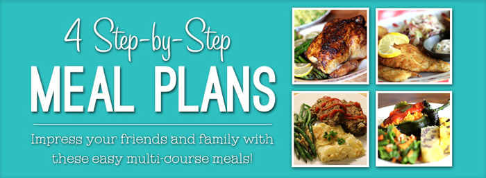 Learn to Cook Meal Plans
