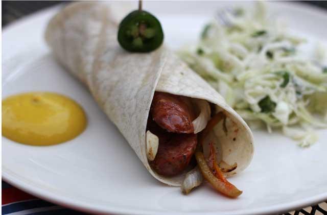 sausage-wrap
