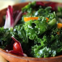 Kale Salad with Bacon
