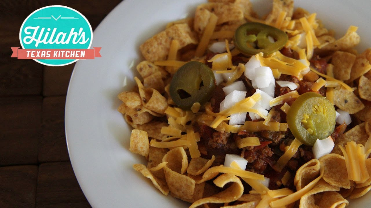 Frito Pie Hilah Cooking