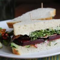 Beet BLT Sandwich