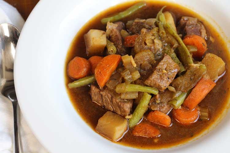 Vegetable Beef Stew - Hilah Cooking