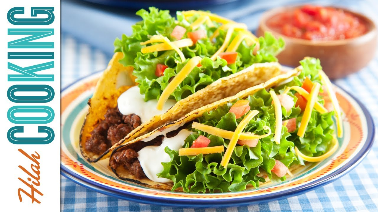 how to prepare ground beef for tacos