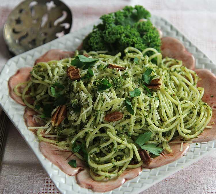 Kale Pesto Recipe – Printable!