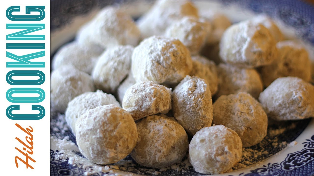 How To Make Mexican Wedding Cookies - Hilah Cooking