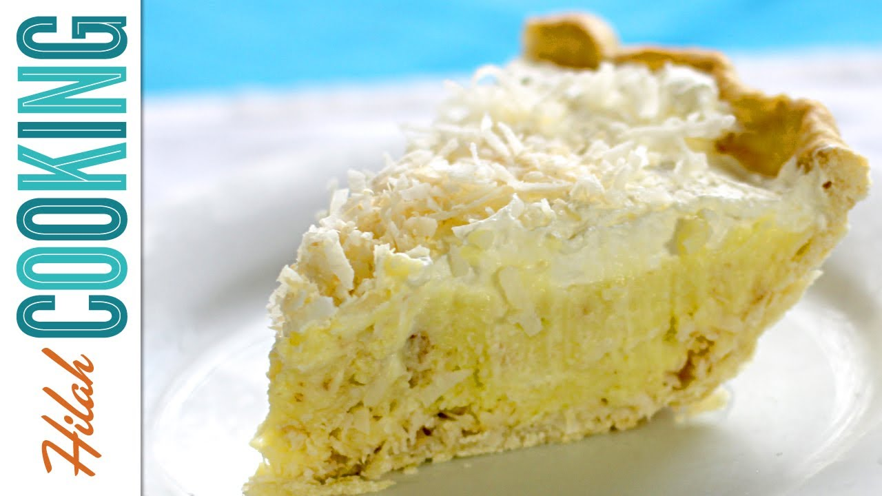 Coconut Cream Pie - Video Recipe