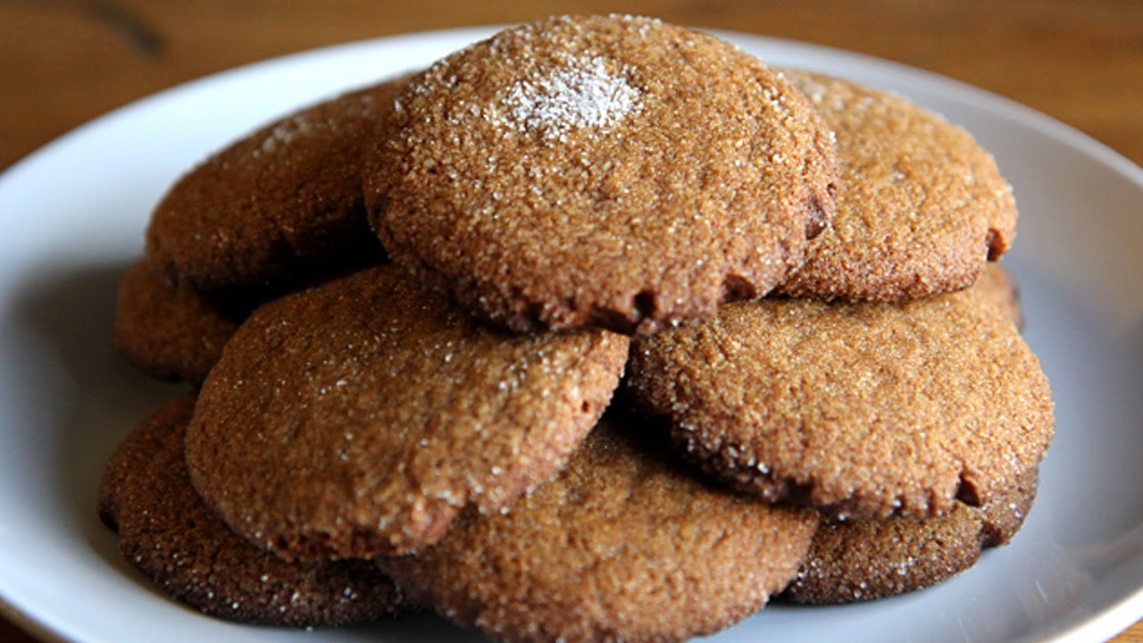 Ginger Snap Cookies - Hilah Cooking