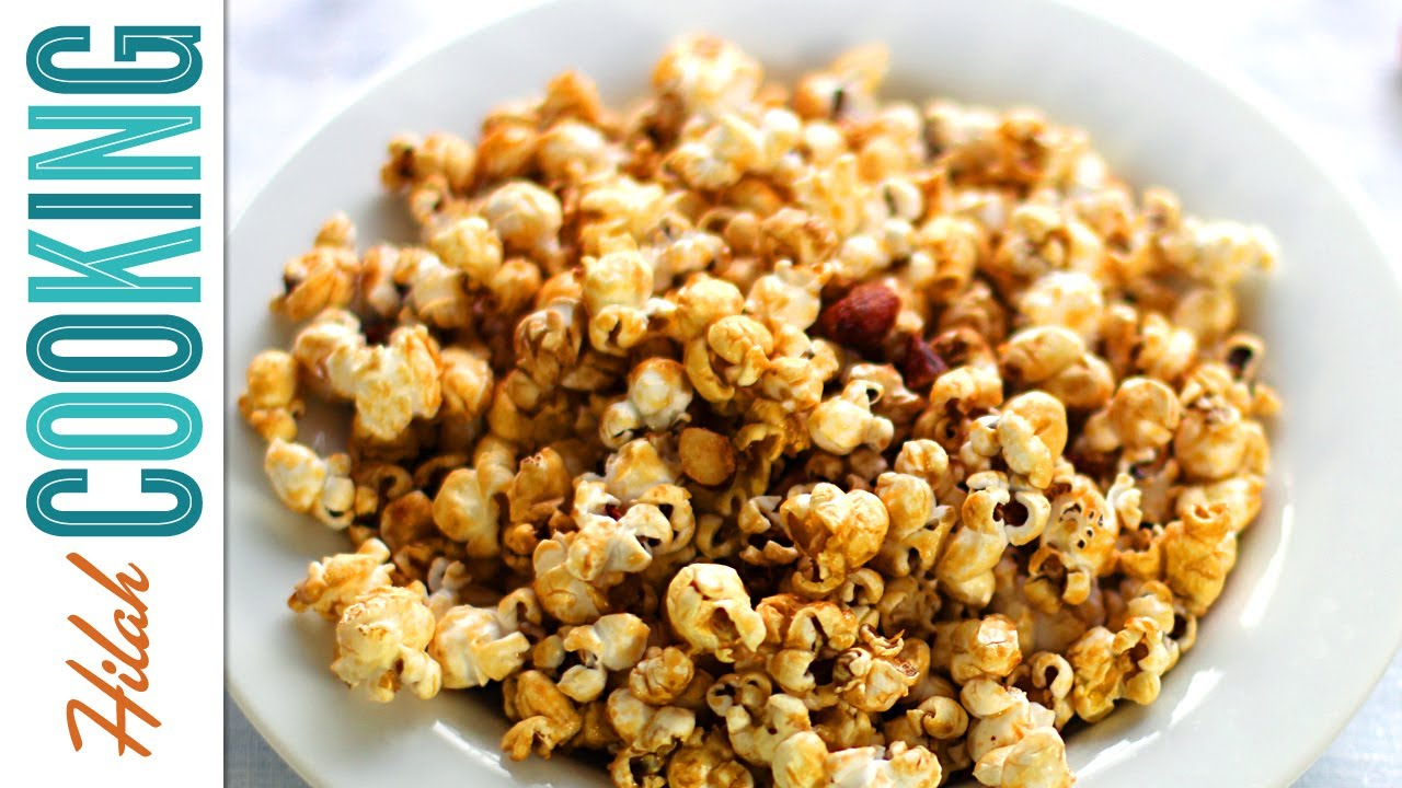 Homemade Caramel Corn (Video Recipe)