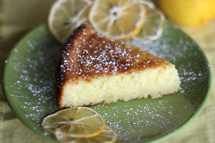 Meyer Lemon-Olive Oil Cake