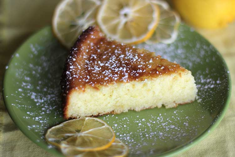 garlic olive oil and lemon juice olive oil cake revithia greek ...