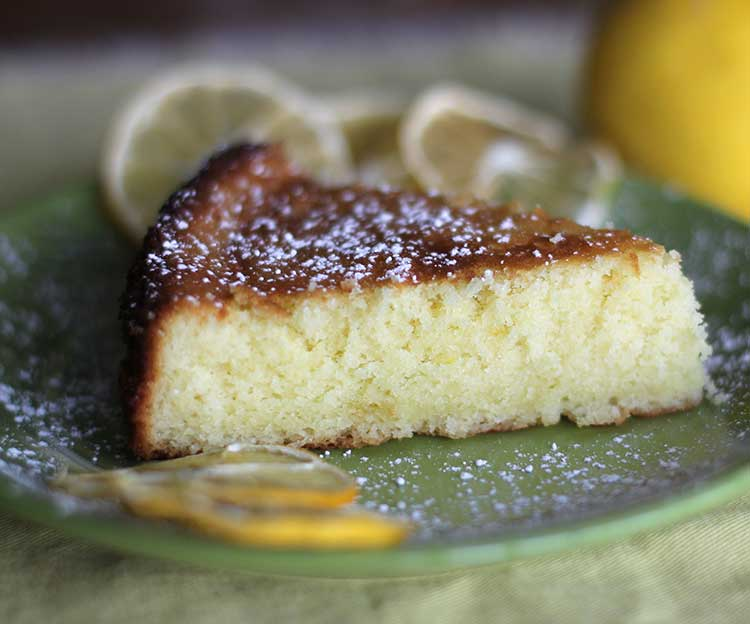 Meyer Lemon-Olive Oil Cake - Hilah Cooking