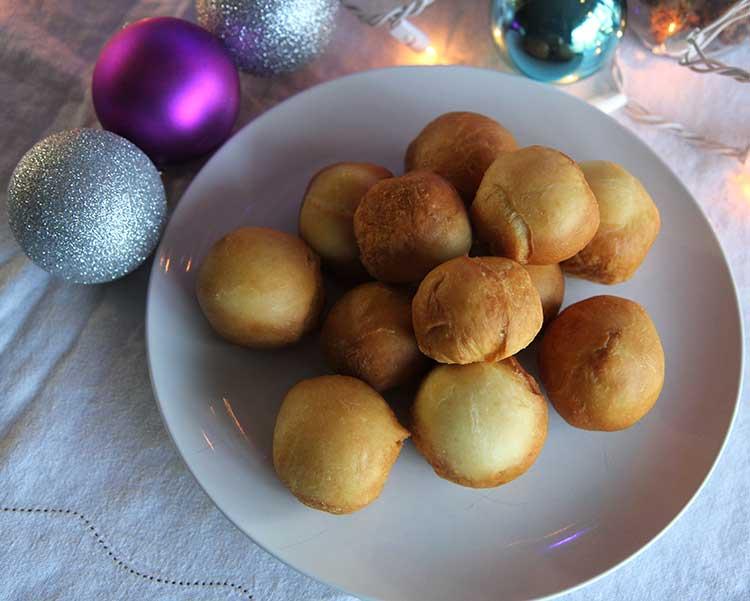 sicilian fried dough balls