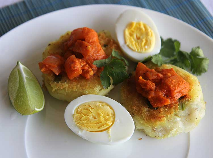 yucca fritters