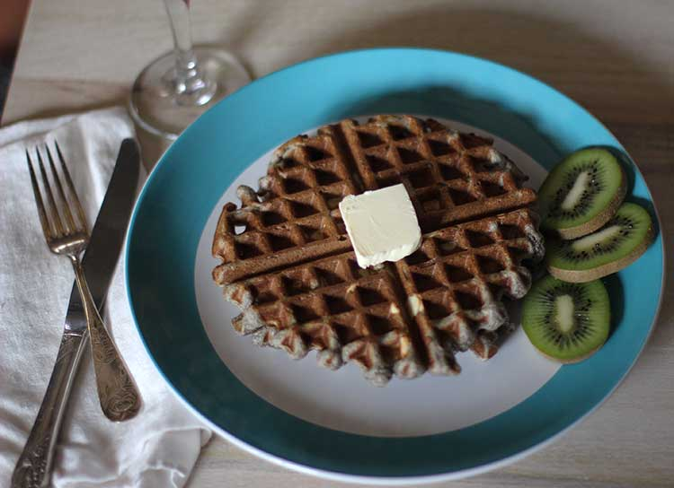 buckwheat waffles recipe