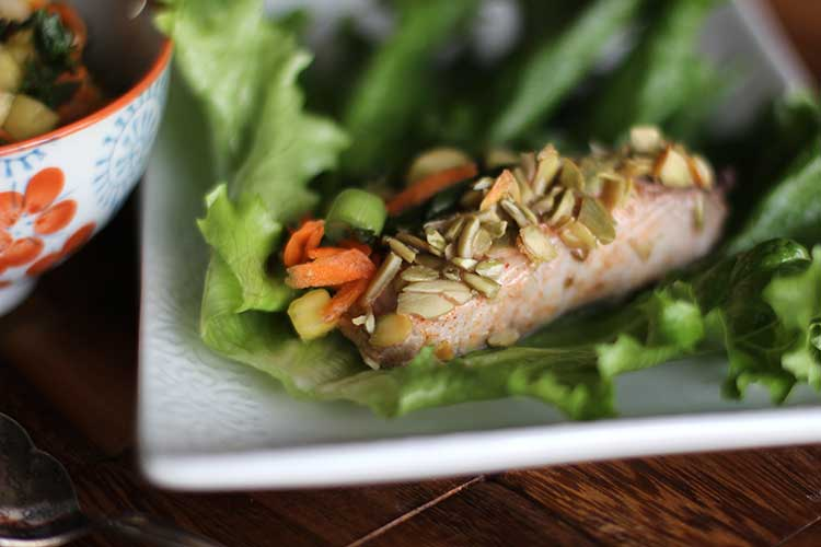 fish lettuce wrap recipe