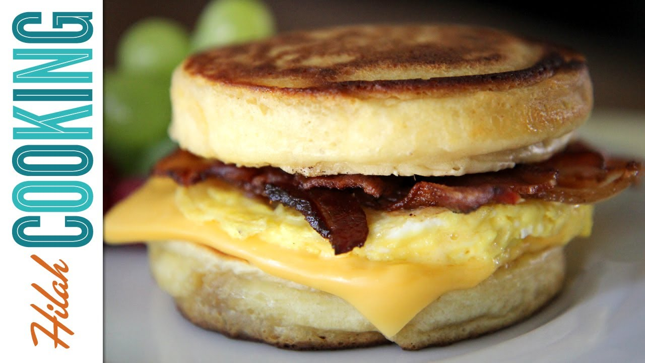 Homemade McDonald's McGriddles - Hilah Cooking