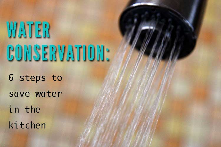 superb Ways To Conserve Water In The Kitchen #2: No water was harmed in the making of this graphic