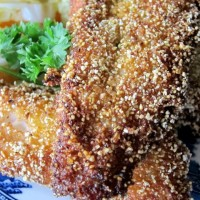 Fried Fish: Cornmeal Fried Catfish