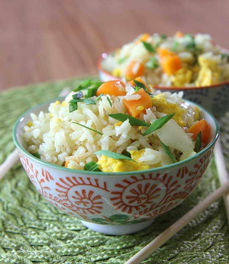 Fried rice recipe with eggs and vegetables fried rice recipe ccuart Gallery