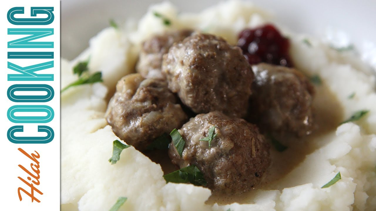 Swedish Meatballs - Hilah Cooking