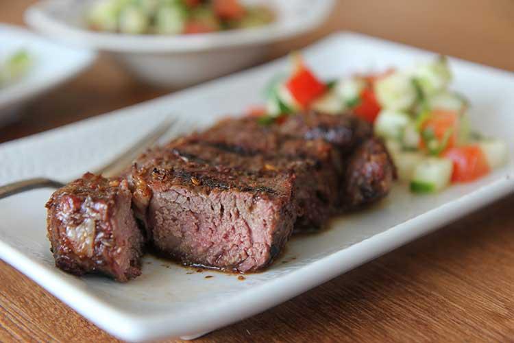 Cumin Grilled Lamb Sirloin Chops