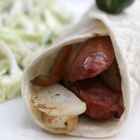 Smoked Sausage Wrap