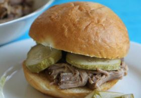 pulled pork in slow cooker