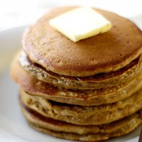 Apple Gingerbread Pancakes
