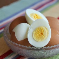 easy peel boiled eggs