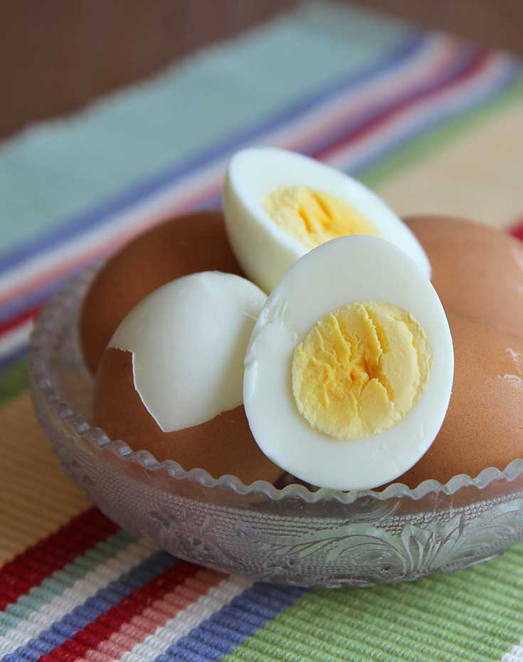 how to cook easy peel hard boiled eggs